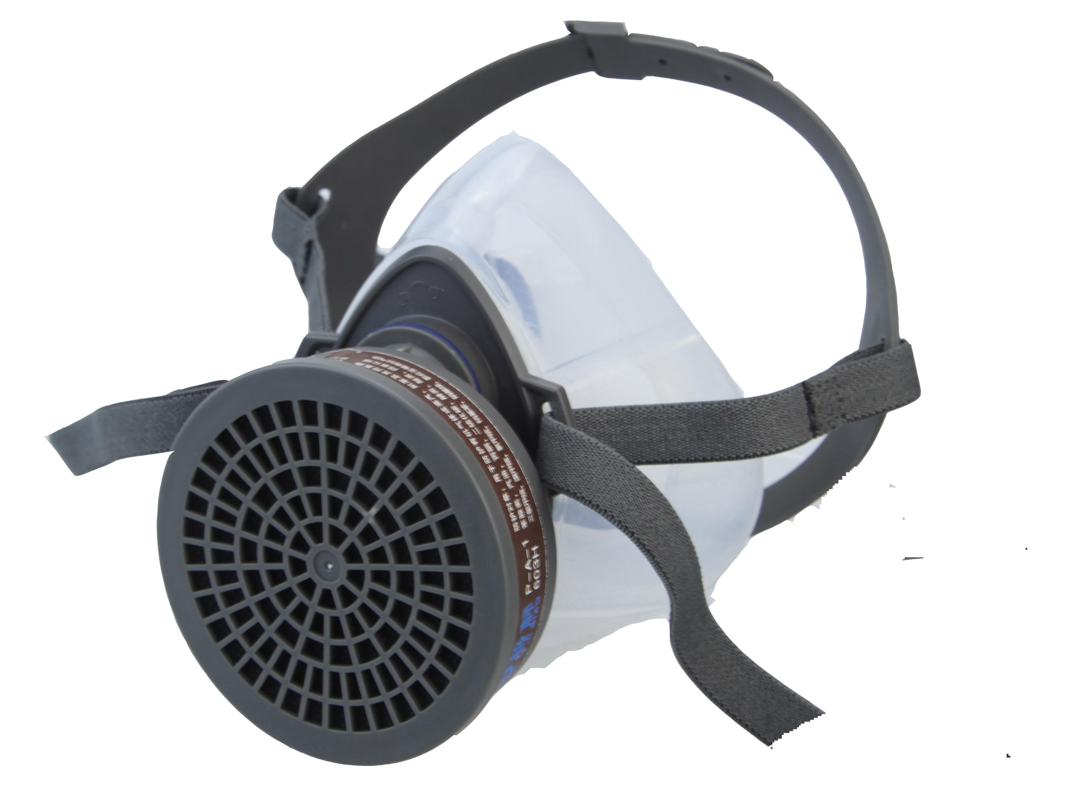 601G 硅胶半面型防毒面罩